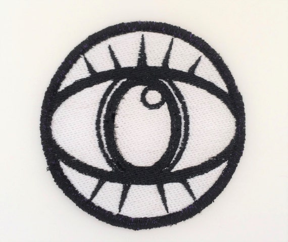 All Seeing Eye, Illuminati, Big Brother, Eye of Protection, Embroidered Motorcycle Patch