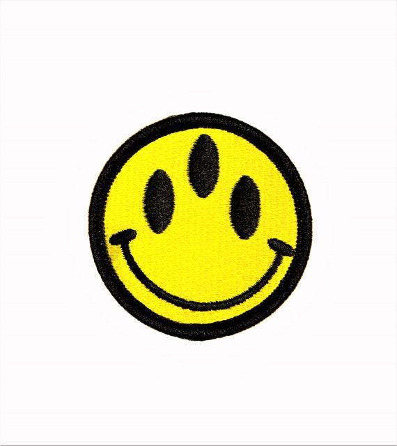 Three Eyed Alien Invasion Mutant Smiley Face