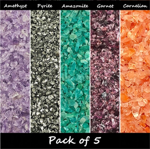 Gemstone Bundle - Pack of 5  - Medium - Beginner or Advanced (select option)