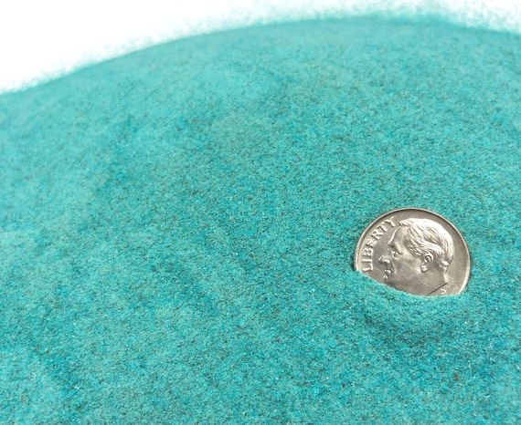 NATURAL, Crushed PREMIUM Dark Blue Chrysocolla for Stone Inlay, Mineral Art, or Handmade Jewelry - Powder (select amount)