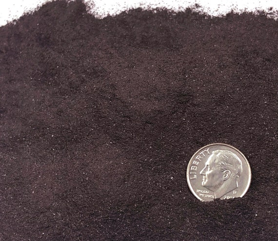 NATURAL, Crushed Hematite (Grade A) for Stone Inlay, Mineral Art, or Handmade Jewelry - Powder (select amount)