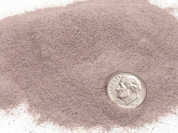 NATURAL, Crushed Rhodonite for Stone Inlay, Mineral Art, or Handmade Jewelry - Powder - 1/2 Ounce