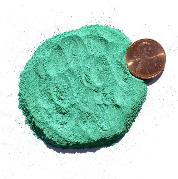 NATURAL, Crushed Malachite for Stone Inlay, Mineral Art, or Handmade Jewelry - Powder, 1/2 Ounce