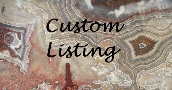 Custom listing for Jami L.