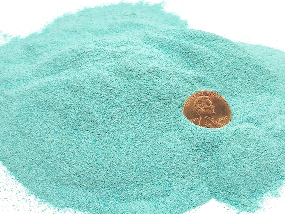 NATURAL, Crushed Chrysocolla for Stone Inlay, Mineral Art, or Handmade Jewelry - Powder (select amount)