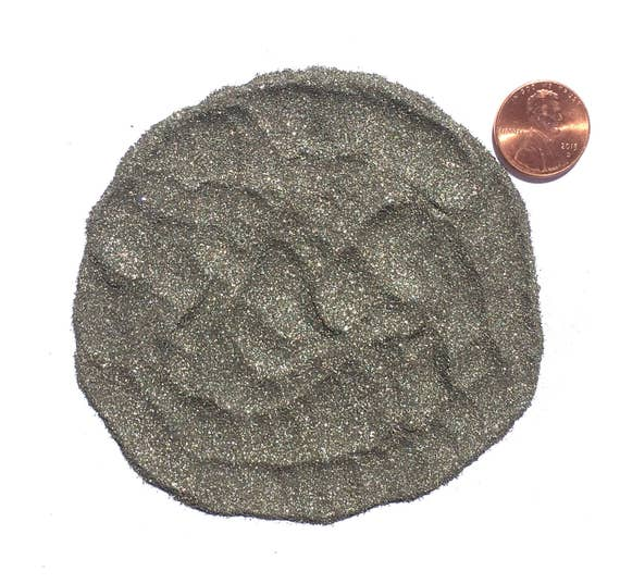 NATURAL, Crushed Pyrite or Fools Gold for Stone Inlay, Mineral Art, or Handmade Jewelry - Powder (select amount)