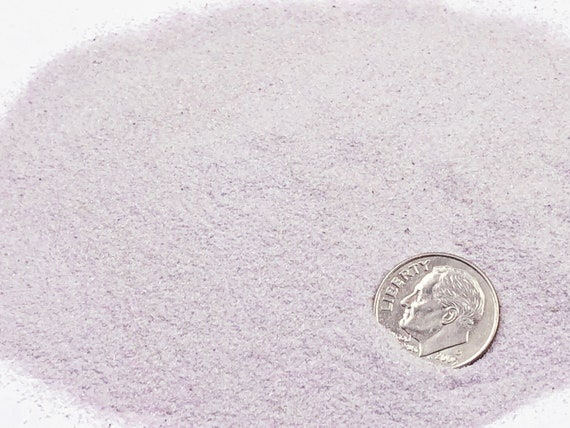 NATURAL, Crushed Amethyst for Stone Inlay, Mineral Art, or Handmade Jewelry - Powder, 1/2 Ounce