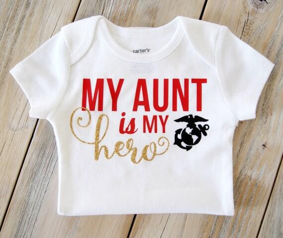 Mi tío es mi héroe-Bebé Niños Niñas T-Shirt Camiseta Camisetas Lindo Suave presentes