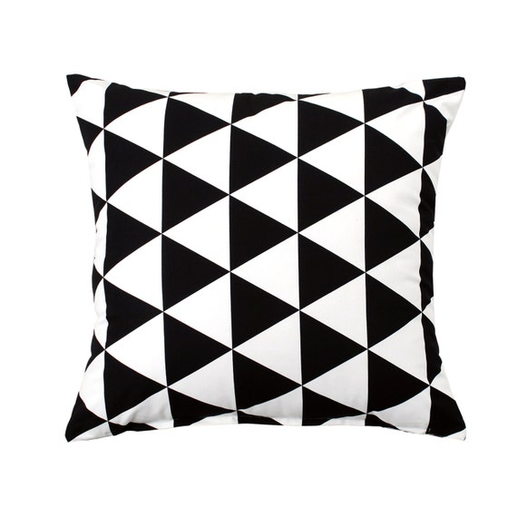 24 X 24 Solid Black Throw Pillow Cover