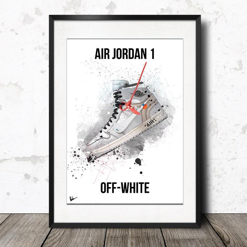 002b05414 Off-White x Nike Air Jordan 1 Limited Edition Poster Artwork