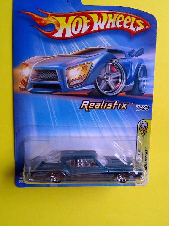 Hot Wheels 1971 Buick Riviera Boat Tail New On Card Etsy