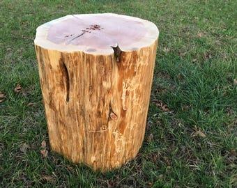 Tree Stump Table, Real Cedar, Live Edge Stump, Natural Coffee Table, Rustic  Wood End Table, Stump Stool, Stump Nightstand, Rustic Furniture