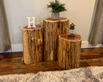 Awe Inspiring Tree Stump Table Etsy Home Interior And Landscaping Ymoonbapapsignezvosmurscom