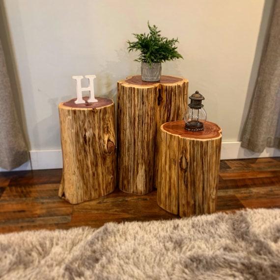 low priced 8e57b 3c6b8 Stump Table, Real Cedar, Log Furniture, Stump Coffee Table, Rustic Tables,  Tree Stump Table, Stump Side Tables, Modern Rustic Furniture