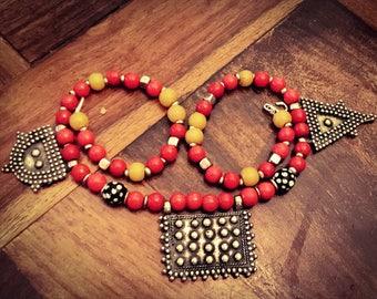Berber pendants necklace