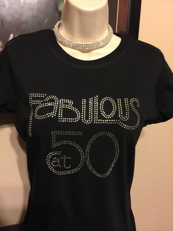 Fabulous Fifty 50TH Birthday T Shirt