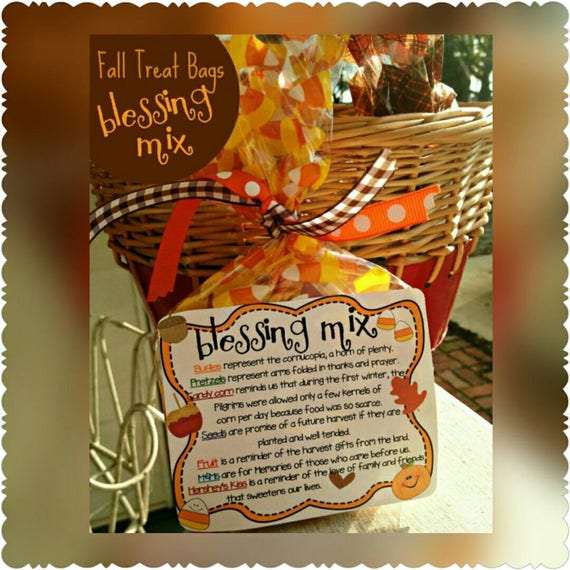 Blessing mix bag labels