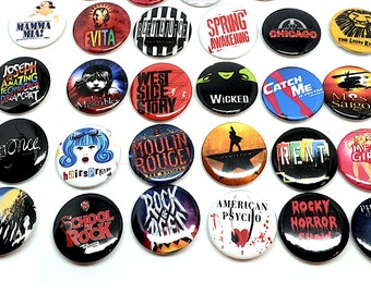 """Pack of 10 American Flag USA 1/"""" Pin Back Buttons Badges Pins"""