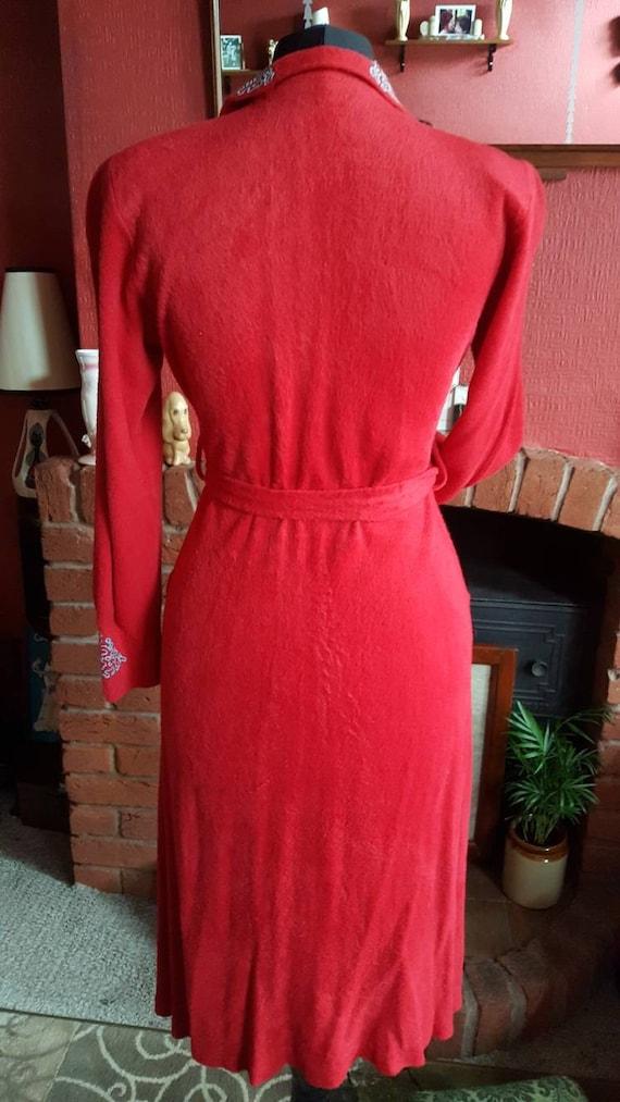 1940s house dress - image 7