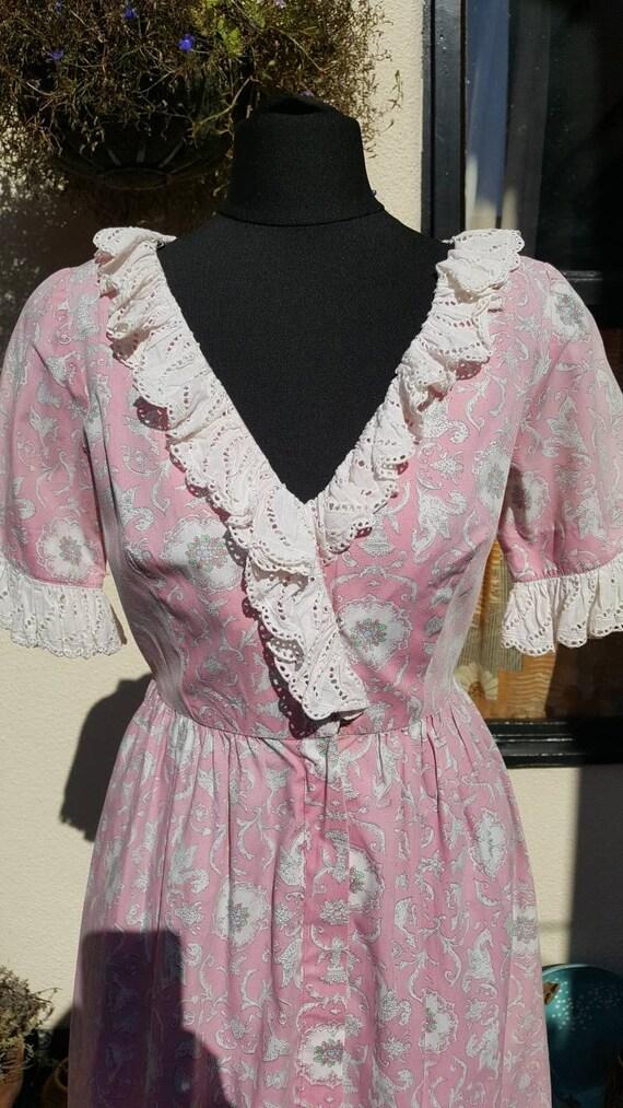 1940s house dress - image 3