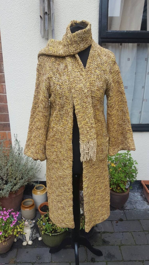 1930s knitted coat