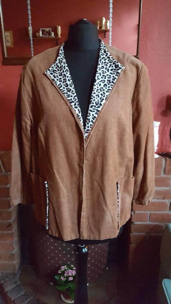 1950s corde jacket