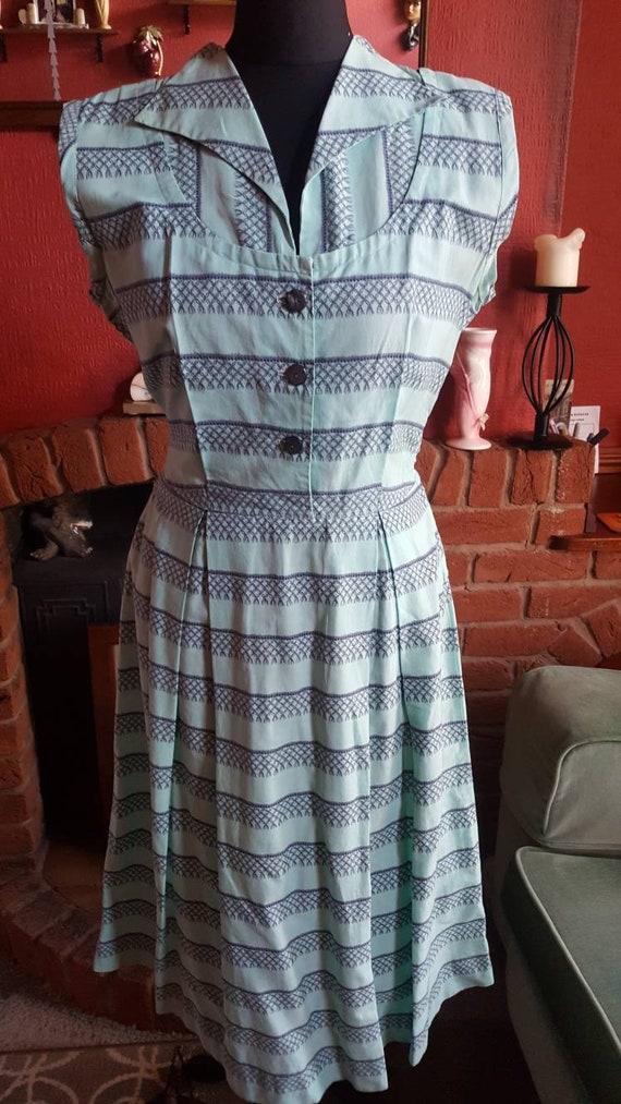 1940s day dress