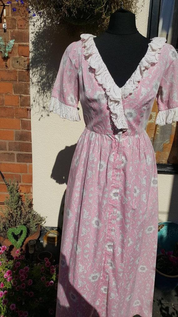 1940s house dress - image 2