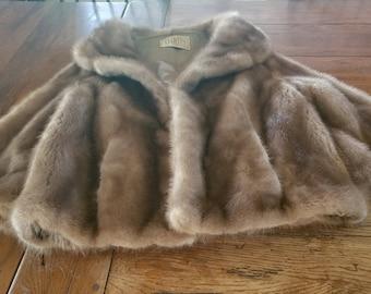 Vintage Llyods Fur Jacket Oleg Cassini