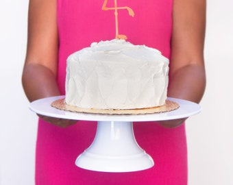 9b9459e437b6 12 inch Cake Stand with detachable base, Shatter proof white cake stand  great for cake smash, good for bakers, customized cake stand wedding