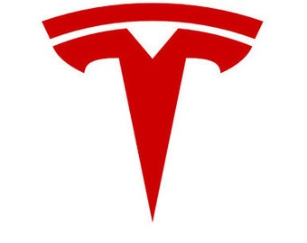 "Tesla Motors ""T"" Logo Decal"
