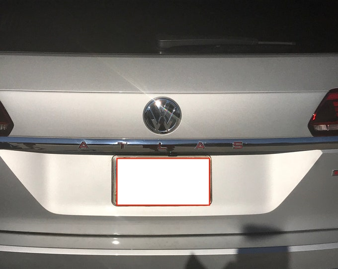VW Volkswagen ATLAS Rear Applique Decals