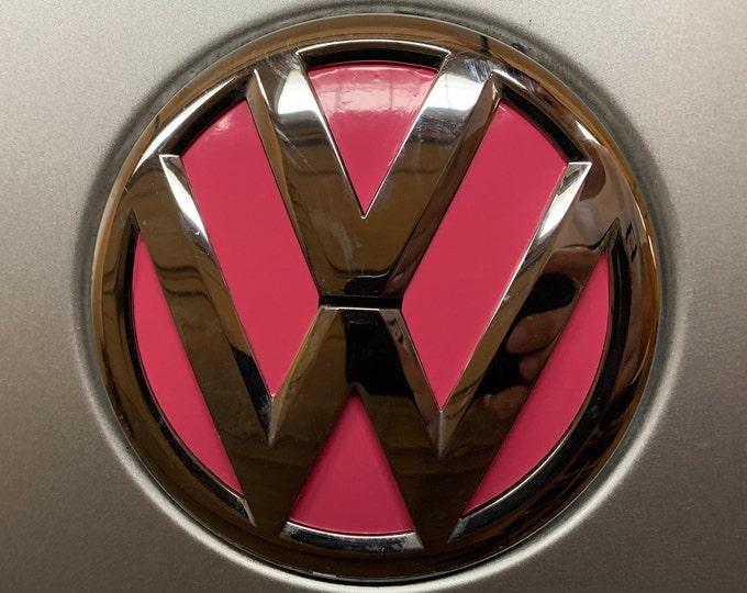 Volkswagen VW Emblem Color Vinyl Decal - Many Colors!