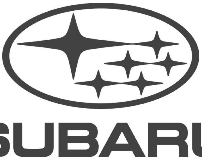 Subaru Logo Vinyl Decal