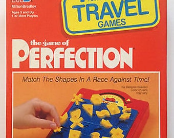 Travel Perfection board game replacement pieces - Milton Bradley Games - multiple eras - TRAVEL GAME