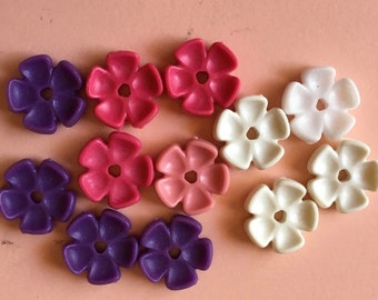 NEW UNUSED Playmobil Replacement pieces Lot of 12 flowers for the 1990's Victorian Mansion