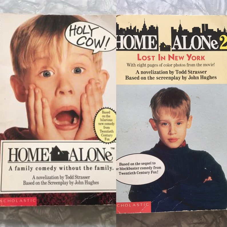 1990's Home Alone Movie Adaptation kids chapter books