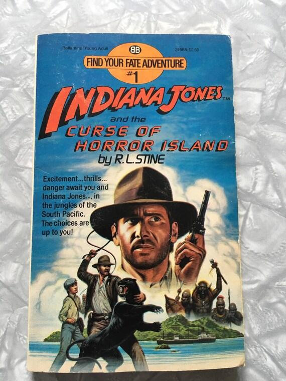 41243134e82 1984 Indiana Jones Find Your Fate Adventure Book 1 by R.L.