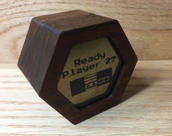 Ready Player 2 Engagement Ring / Keepsake Box