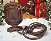 Vintage RCA Victor Victrola Nipper Double Button Carbon Microphone P-64713, Untested, ca. 1935