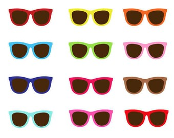 c4f05deed0b7c Sunglasses Clip Art Collection