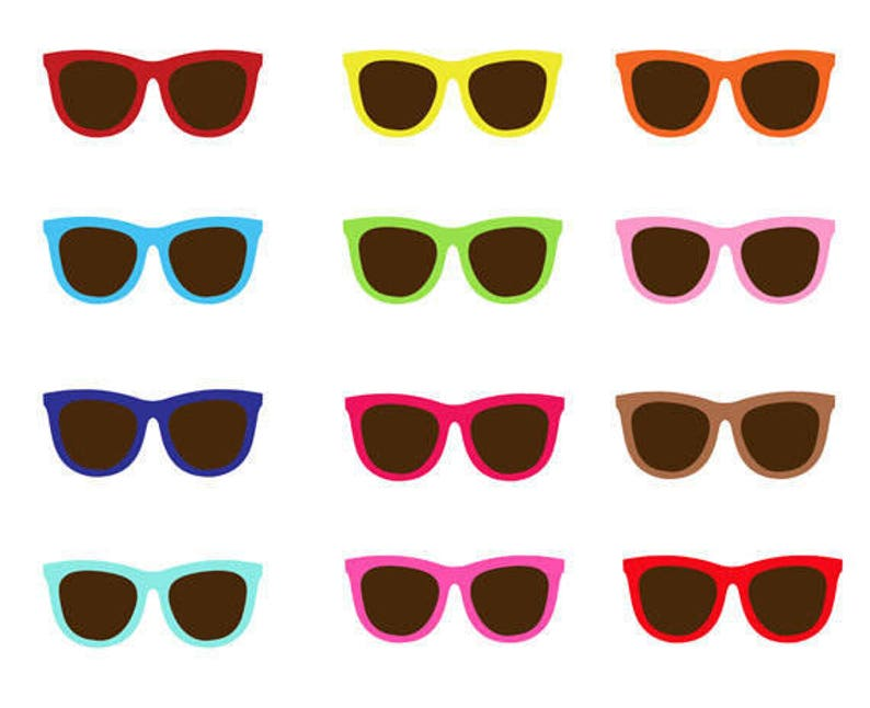 22628606a8 Sunglasses Clip Art Collection Summer Sunny Shades Sun