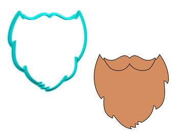 Beard Cookie Cutter
