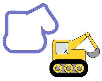 Excavator - Digger Cookie Cutter