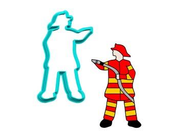 Firefighter Cookie Cutter
