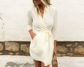 City Girl Wrap Dress