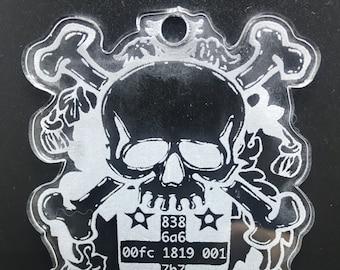 Hacker Family Badge: Acrylic