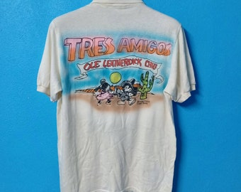 1fd39674d rare!!!vintage 80s mickey mouse ole george tres amigos shirt