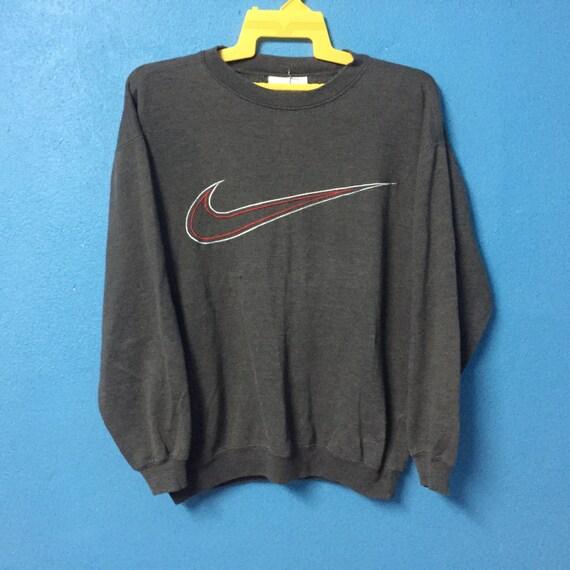 Vintage 90S Nike Swoosh Big Logo Sweatshirt