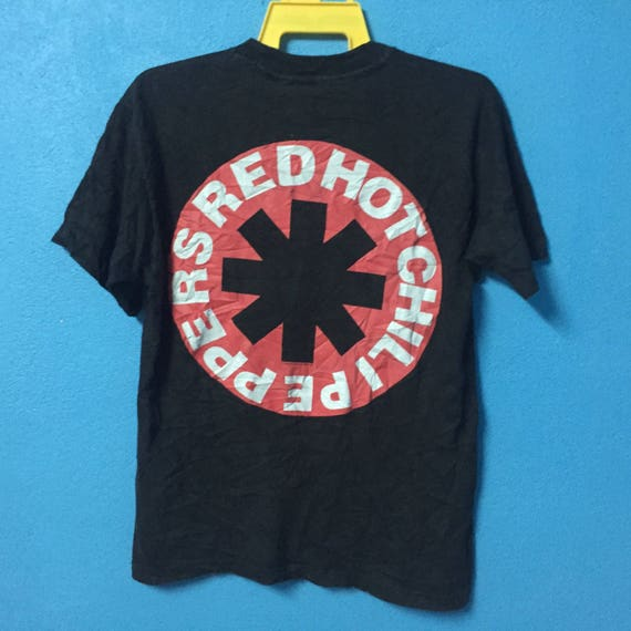 band shirt chili L hot Megarare RHCP vintage peppers size 90s red qwF01A8